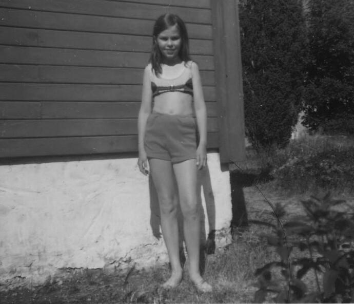 FORTRENGT: Eva Schultz forteller til KK at hun fortrengte de seksuelle overgrepene helt frem til hun ble voksen. FOTO: Privat