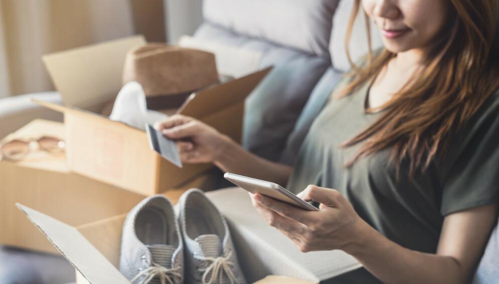 OVERFORBRUK: – En shoppingavhengighet kan føre til alvorlige økonomiske problemer, sier forbrukerøkonom. FOTO: NTB
