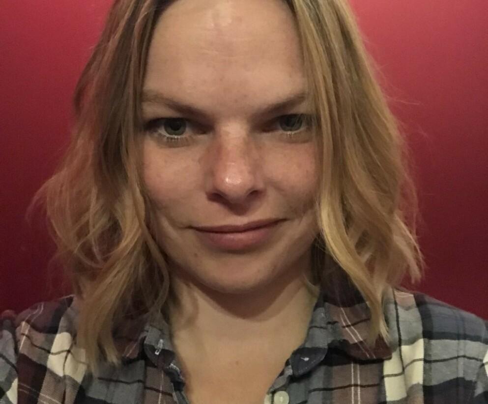 KRAFTIGE HUMØRSVINGNINGER: Birgitte var ikke forberedt på at hun etter fødselen skulle slite med kraftig PMS. FOTO: Privat