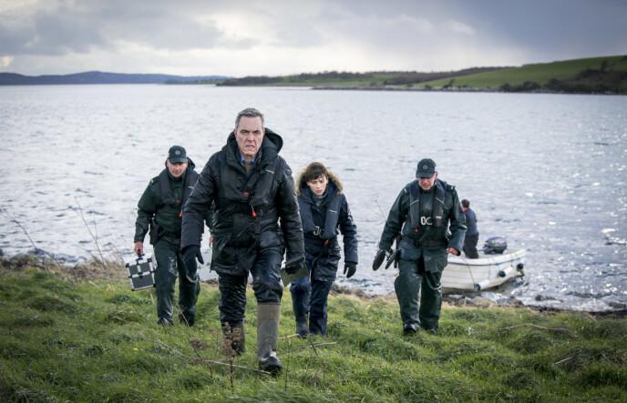 BLOODLANDS: Skuespiller James Nesbitt har hovedrollen som politietterforsker Tom Brannick i påskekrimmen Bloodlands. FOTO: TV 2