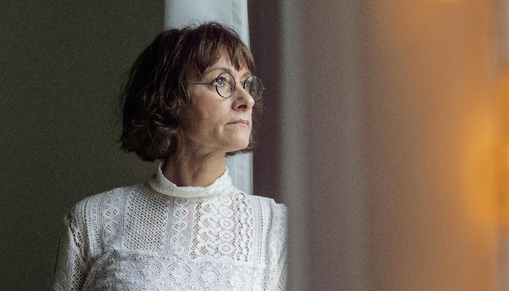 SØKTE HJELP: Gunhild Zacho Maarup ble overmannet av katastrofetanker da den siste av hennes to døtre flyttet ut for seks år siden. FOTO: Andreas Bang Kirkegaard