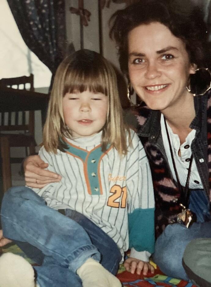 SLIK DET VAR: Madeleine Schulz har vært opptatt av å å gi mammas opplevelser tyngde og troverdighet i arbeidet med boken «Morslinjer». FOTO: Privat