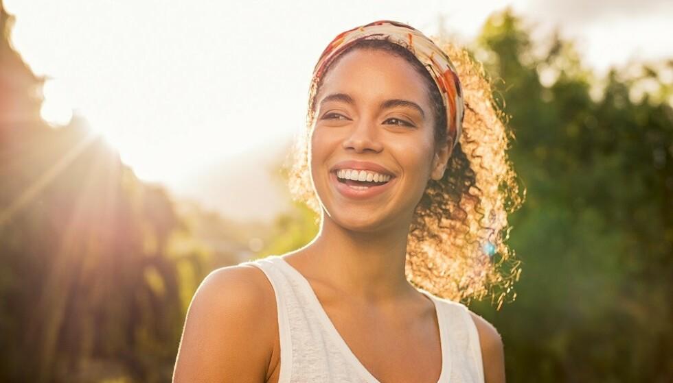 VITAMIN D: Vi får en del vitamin D fra sollyset om sommeren. FOTO: NTB