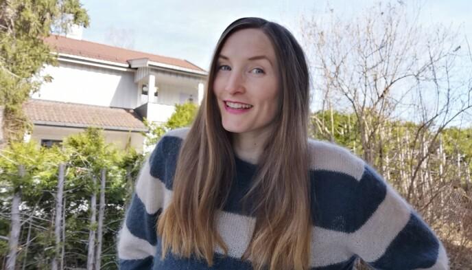 PASSER NOK IKKE ALLE: Mange av oss vasker håret med sjampo for at det skal lukte ekstra godt, Lise tror derfor at en del vil synes det er uvant med hår som bare lukter hår. FOTO: Privat