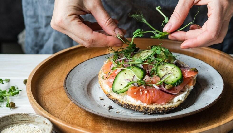 SUNT: Brød med sunt pålegg kan du helt fint spise hver dag. FOTO: NTB