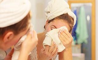 Bruker du håndkleet ditt i ansiktet?