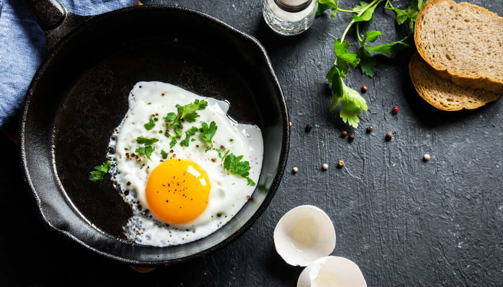 EGG: Spiser du mye egg? Det kan være lurt å begrense inntaket. Foto: NTB