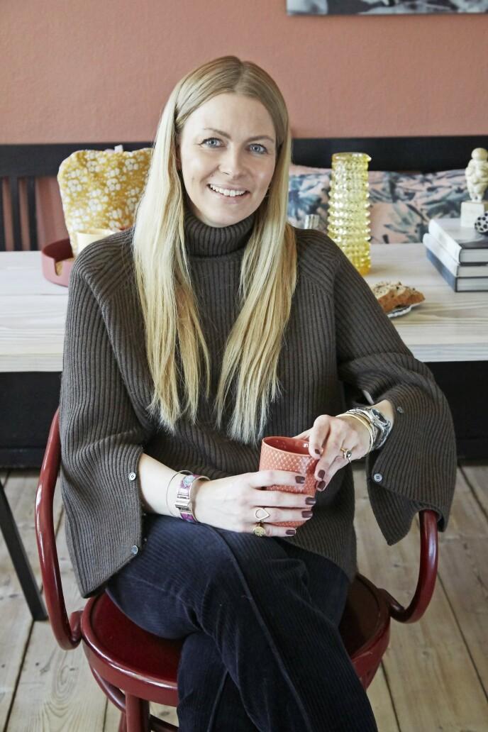 Bettina Færgeman elsker å blande forskjellige stilperioder.