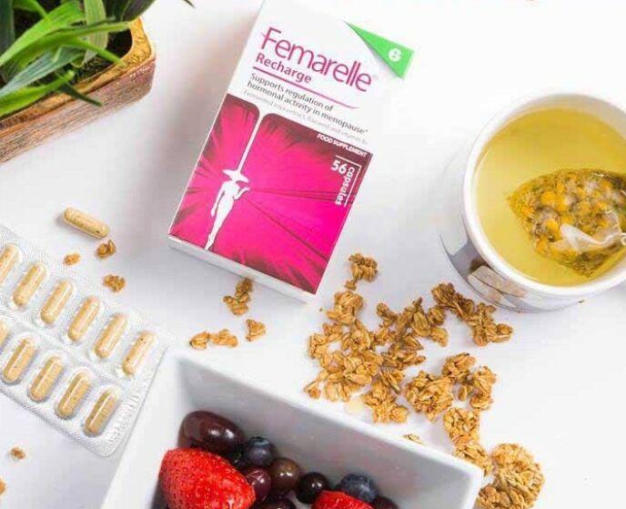 Mot overgangsplager: Femarelle Recharge 50+ er basert på fermentert soya, bedre kjent som tofu.
