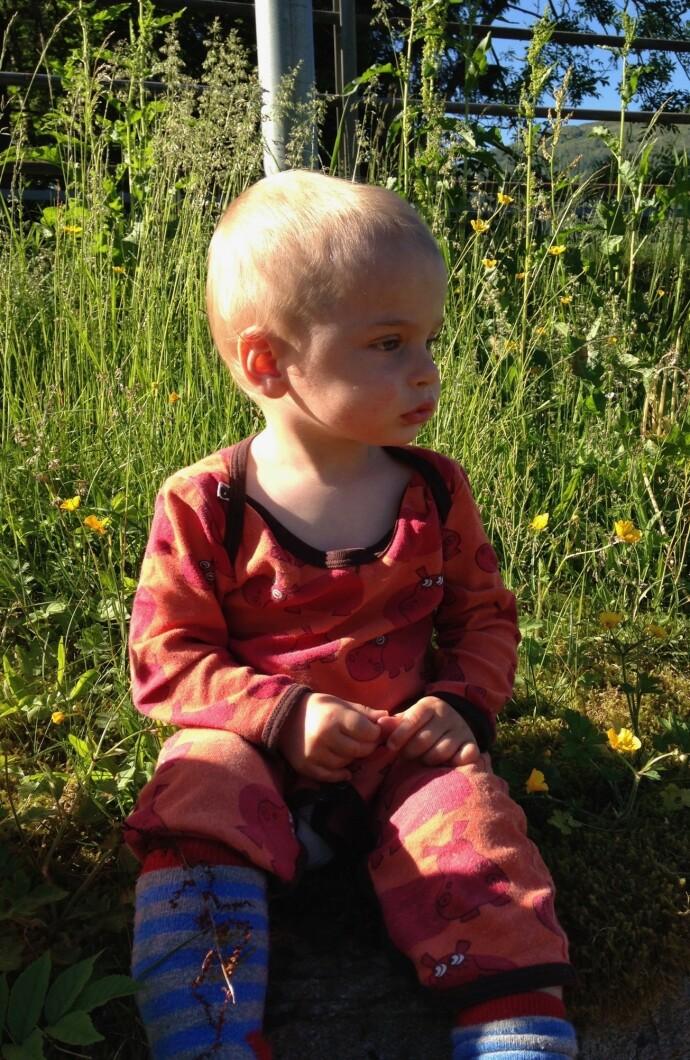 VAKRE EINAR: Det var ikke før Einar var halvannet år gammel at Miriam og Torkil begynte å merke at noe var galt. FOTO: Privat