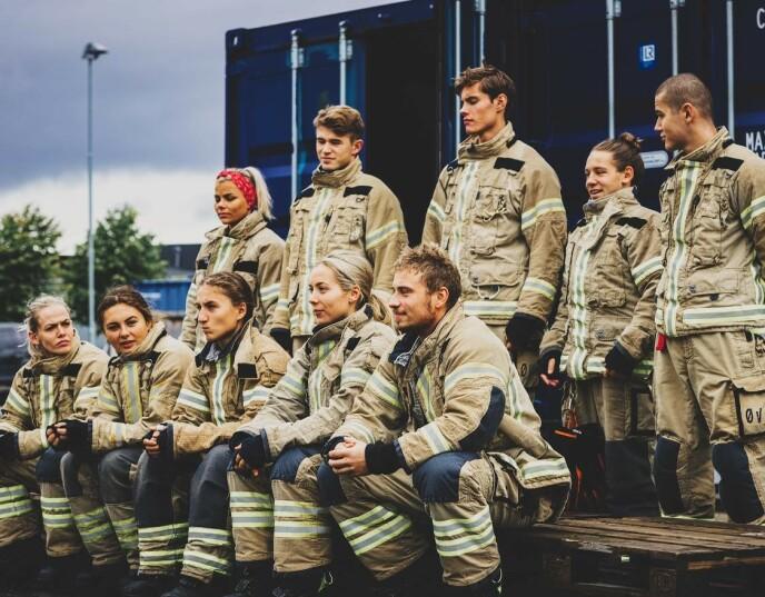 «NORGES TØFFESTE»: - Jeg er stor fan av alle, sier Seher om deltakerne. Foto: Erlend Lånke Solbu (NRK)