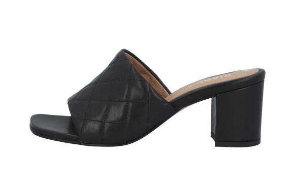Sandaler med hæl (kr 1100, Bianco).