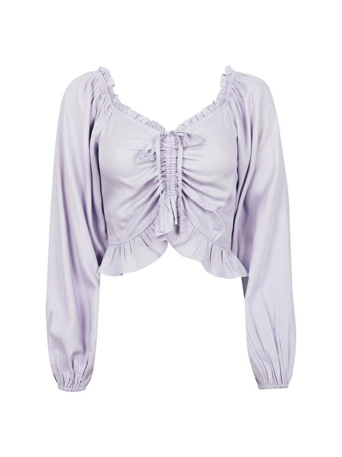 Lilla bluse (kr 300, Bik Bok).