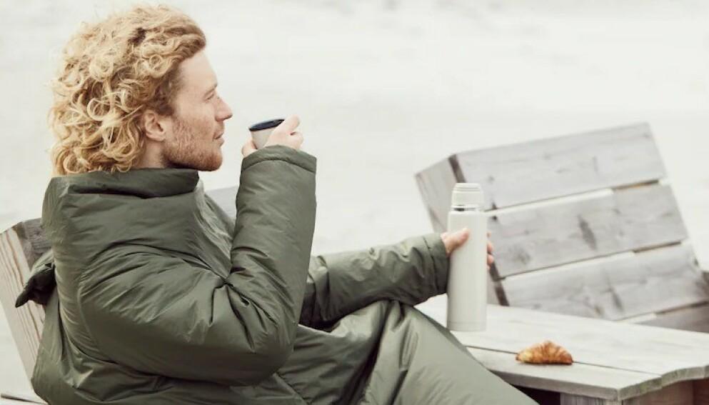 VEKKER OPPSIKT: Er det en jakke eller er det en sovepose? Foto: Ikea
