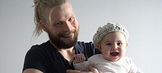 Tor-Arne har strikkedilla: - Jeg blir kalt kjerring og homo