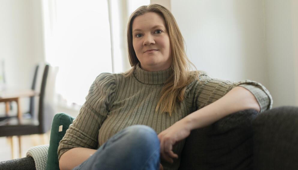 GJELD: - Ingen visste hvor ille det var, sier Kristin om gjeldsknipa hun havnet i. FOTO: Lars Evensen