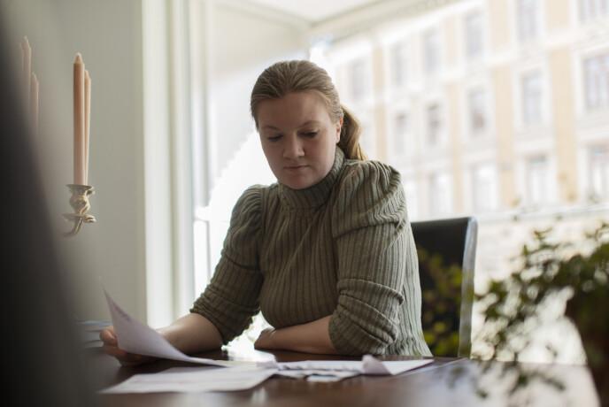 LEVDE UNDER FATTIGDOMSGRENSEN: - Jeg hadde fire jobber, men hadde aldri penger. FOTO: Lars Evensen