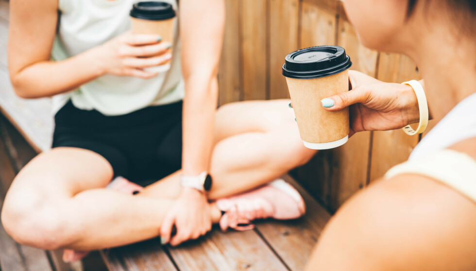 KAFFE: - Koffein øker våkenhet og energinivå. Mange føler at de får mer energi og overskudd av å drikke kaffe. FOTO: NTB