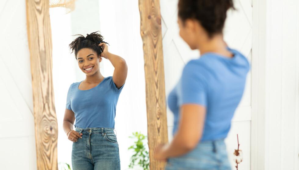LIK DEG SELV: - De fleste av oss har høye tanker om oss selv i noen situasjoner, sier psykologen. FOTO: NTB