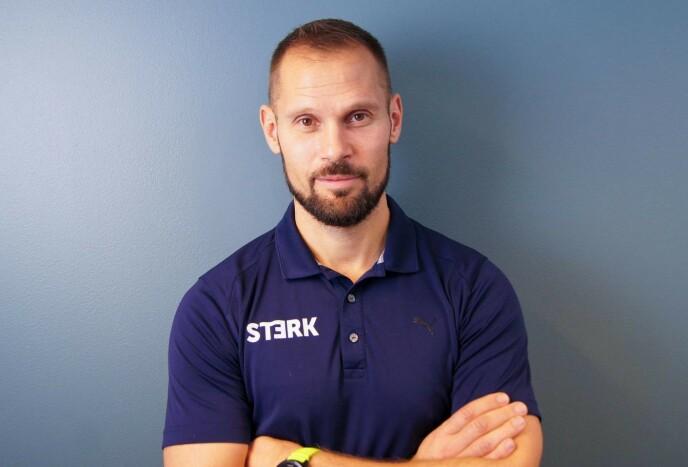 STERK: Klinikksjef Daniel Strengelsrud ved treningskjeden STERK trening og helse. FOTO: STERK