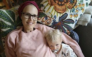 Ebba (40) hadde en svulst på åtte kilo i magen: - Jeg tenkte på at datteren min var for ung til å huske meg om jeg døde