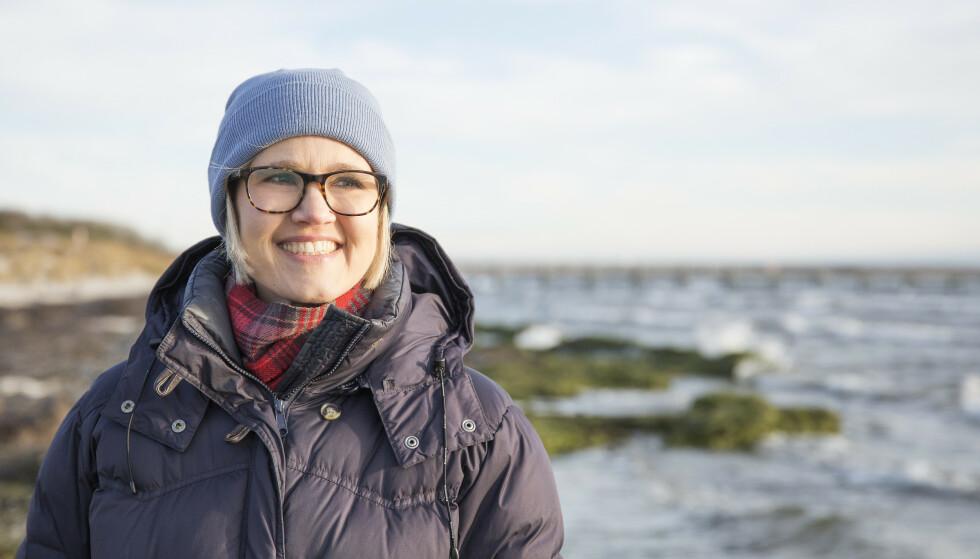 FIKK DØDSDOMMEN: Etter ett års kreftbehandling, fikk Ebba Hjertstedt beskjed om at det ikke var noe mer legene kunne gjøre. - Jeg tenkte hele tiden på datteren min og at hun var for ung til å huske meg om jeg døde, forteller 40-åringen. FOTO: Pernilla Wästberg