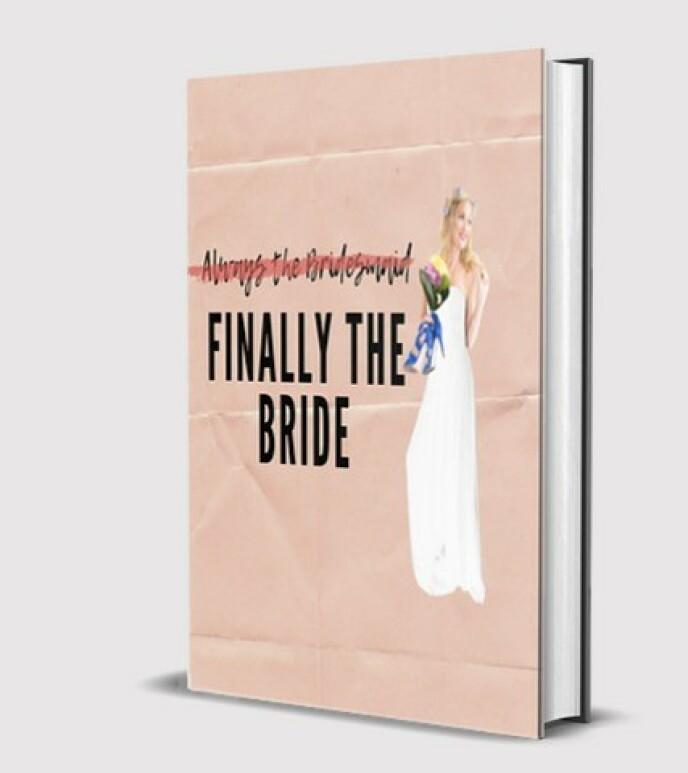 BOK PÅ GANG: Jen, som alltid er brudepike, har endelig blitt brud selv. Nå deler hun sine beste tips i en bok. Foto: Privat