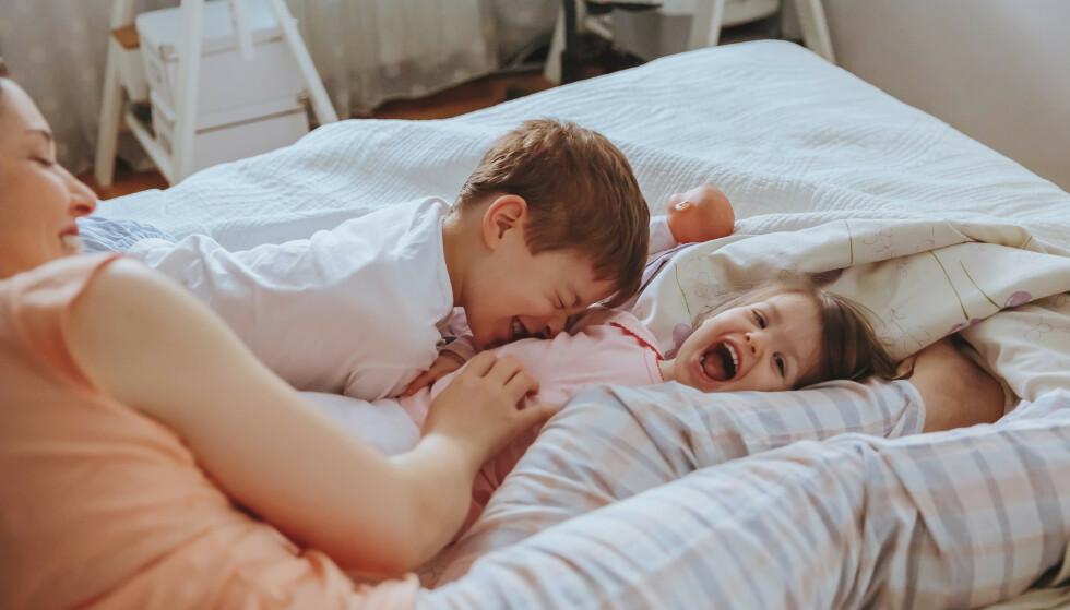 – Hvis man sammenligner heltidsansatte med og uten barn, vil jeg anta at stressnivået generelt sett er høyere hos de som har barn. FOTO: NTB