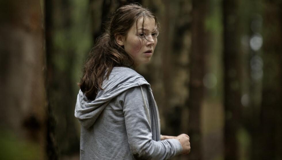 UTØYA: 22. JULI: Andrea Bertnzens første, store hovedrolle var i den prisbelønte filmen som omhandlet terrorangrepet på Utøya i 2011. Filmen hadde premiere i 2018. FOTO: Paradox Film 7 / Nordisk Film Distribusjon
