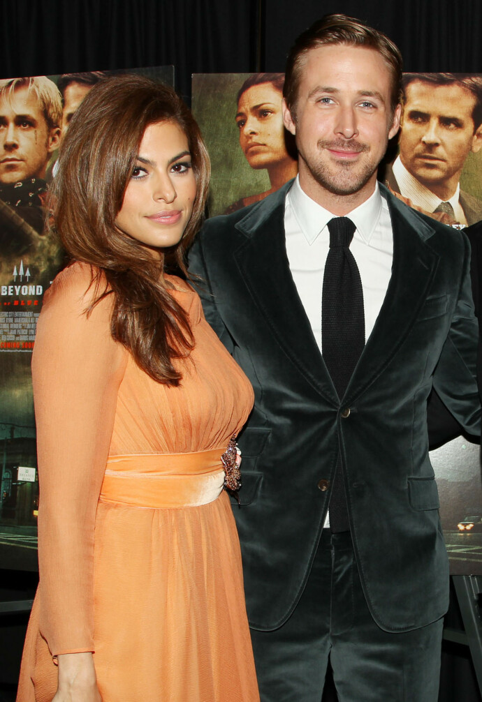 GIFT: Ryan Gosling og Eva Mendes giftet seg i 2011. FOTO: Dave Allocca/Starpix/REX/NTB