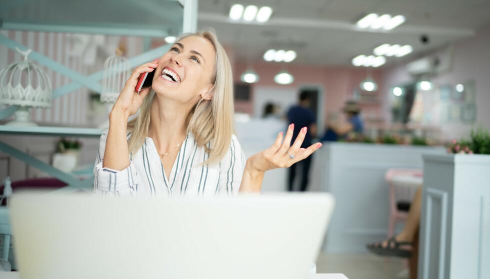 LE DEG TIL GOD HELSE: - Mens stress reduserer blodstrømmen, kan latter øke den. Det finnes en sammenheng mellom latter og helse, sier eksperten. FOTO: NTB