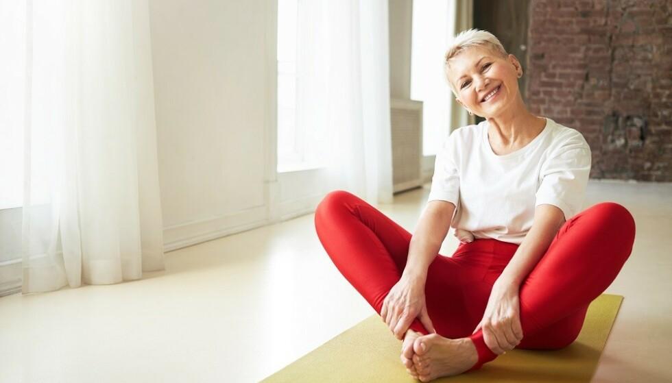 VIKTIG Å HOLDE SEG I FORM: Eldre er som regel mindre aktive, og det gir en reduksjon i muskelmasse, forteller ekspert. FOTO: NTB