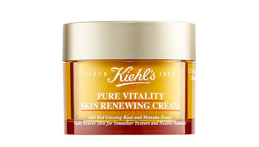 Pure Vitality Skin Renewing Cream (kr 635, Kiehl's). FOTO: Produsenten
