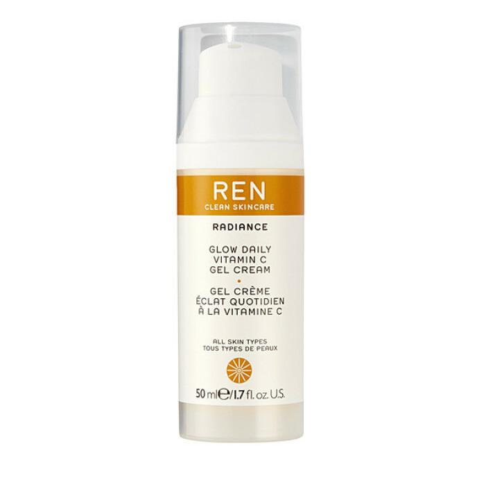 Clean skincare radiance glow daily vitamin c-gel cream (kr 560, Ren Scincare). FOTO: Produsenten