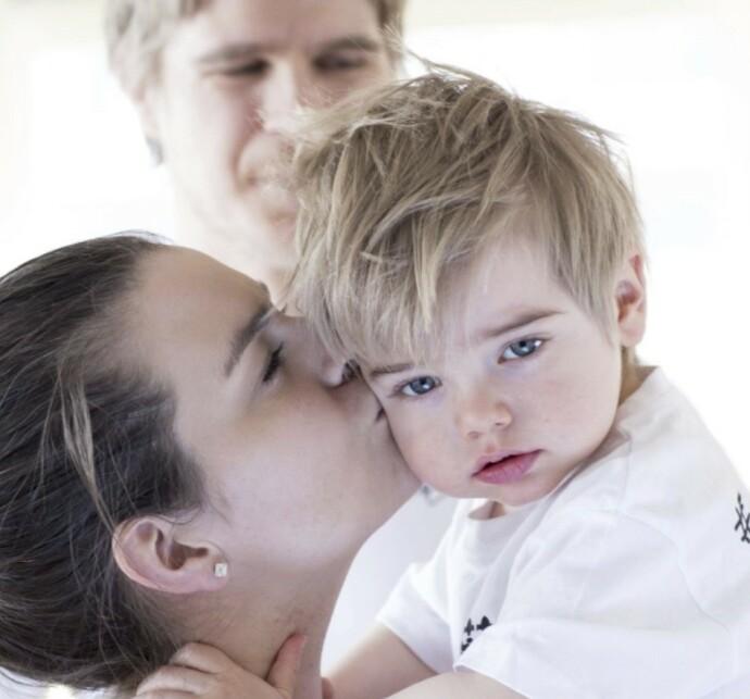 DRAVET SYNDROM: Da KK møtte familien Egnersson første gang var Elliot to år. Siden har vi fulgt familien gjennom ulike stadier av sykdommen. FOTO: Charlotte Wiig