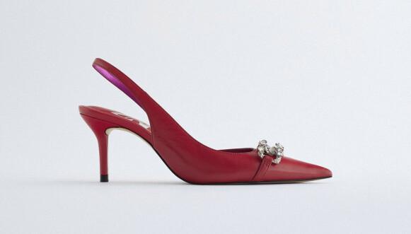 Røde med strass (kr 700, Zara).