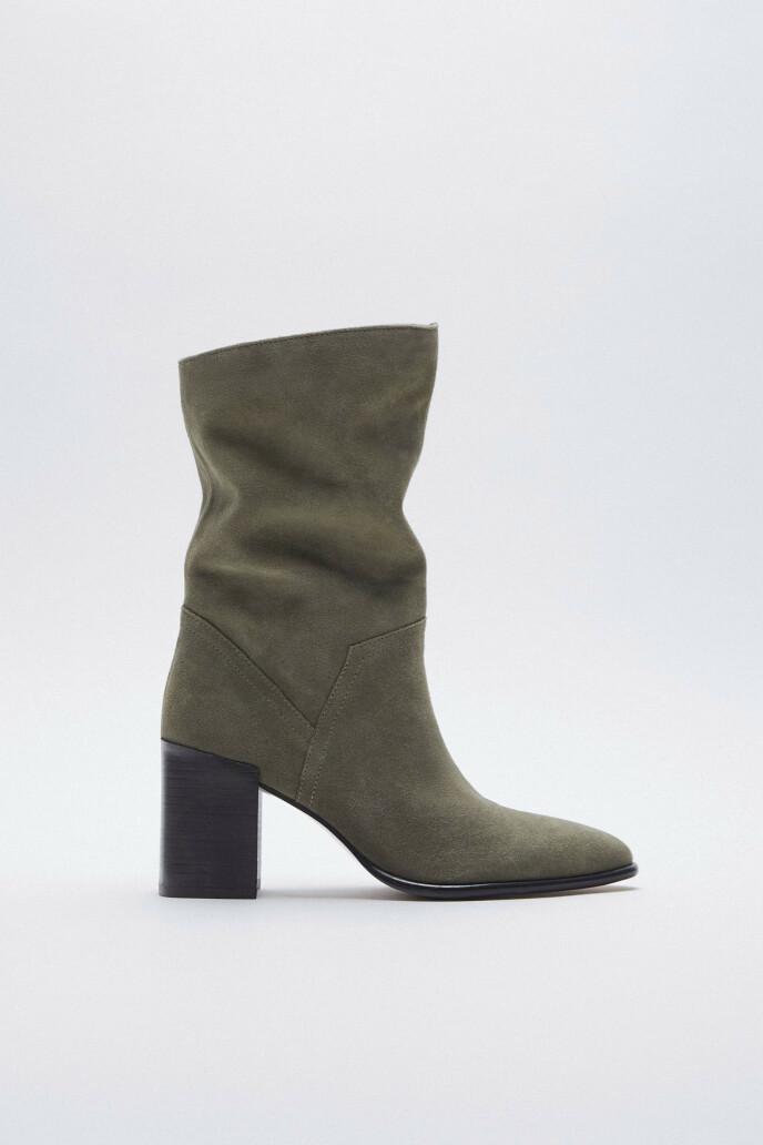 Militærgrønne (kr 800, Zara).