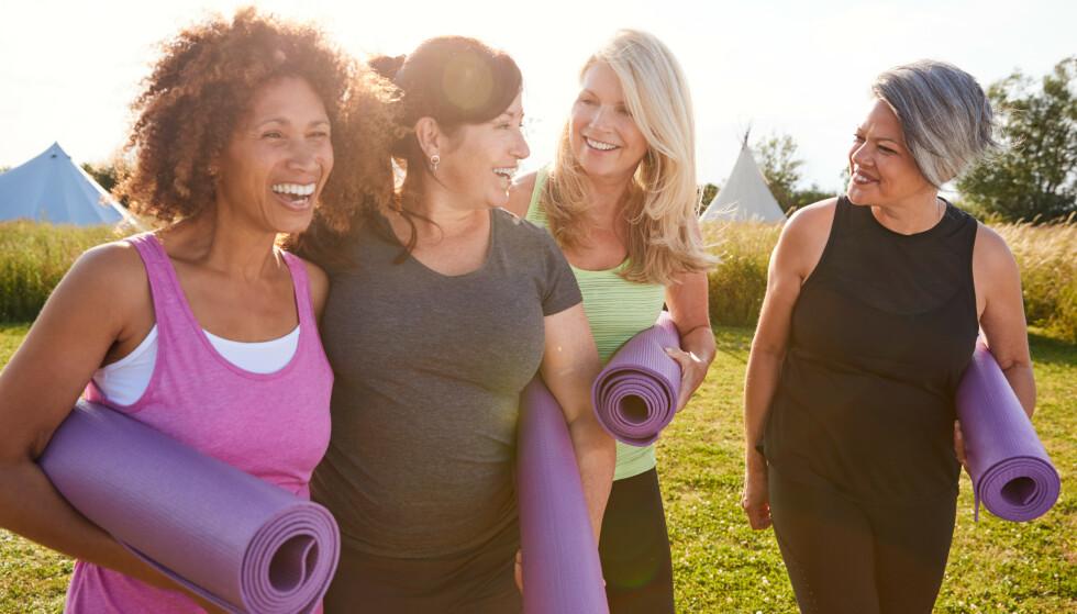 VEKTNEDGANG OG ALDER: Alder trenger absolutt ikke være noen hindring for å gå ned i vekt, mener ekspertene. FOTO: NTB