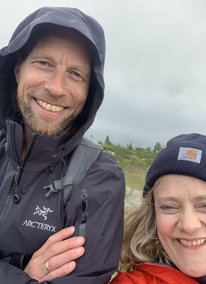 GODT GIFT: Henriette og Rune giftet seg i 2019. FOTO: Privat