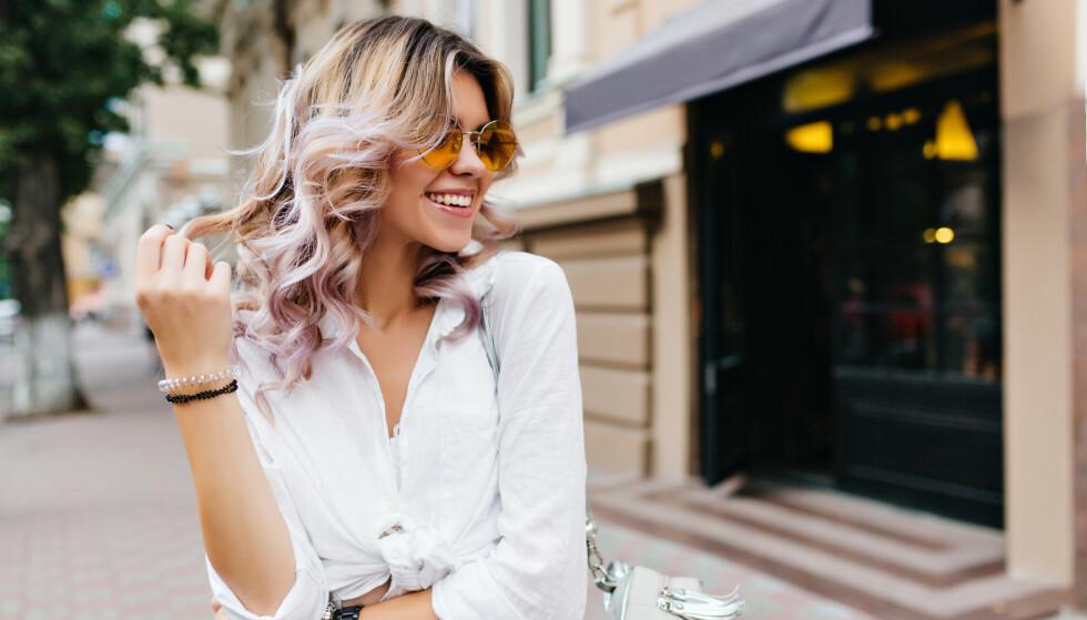 IDENTITETEN DIN: Håret ditt er en del av identiteten din, men den naturlige hårfargen din forteller oss imidlertid lite om intelligensen og personligheten din. FOTO: NTB
