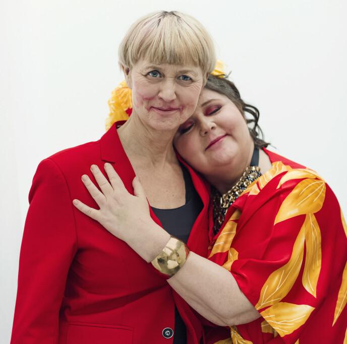 STILL GOING STRONG: Pernille og Christine er like forelsket som da de ble sammen på 90-tallet. FOTO: Astrid Waller