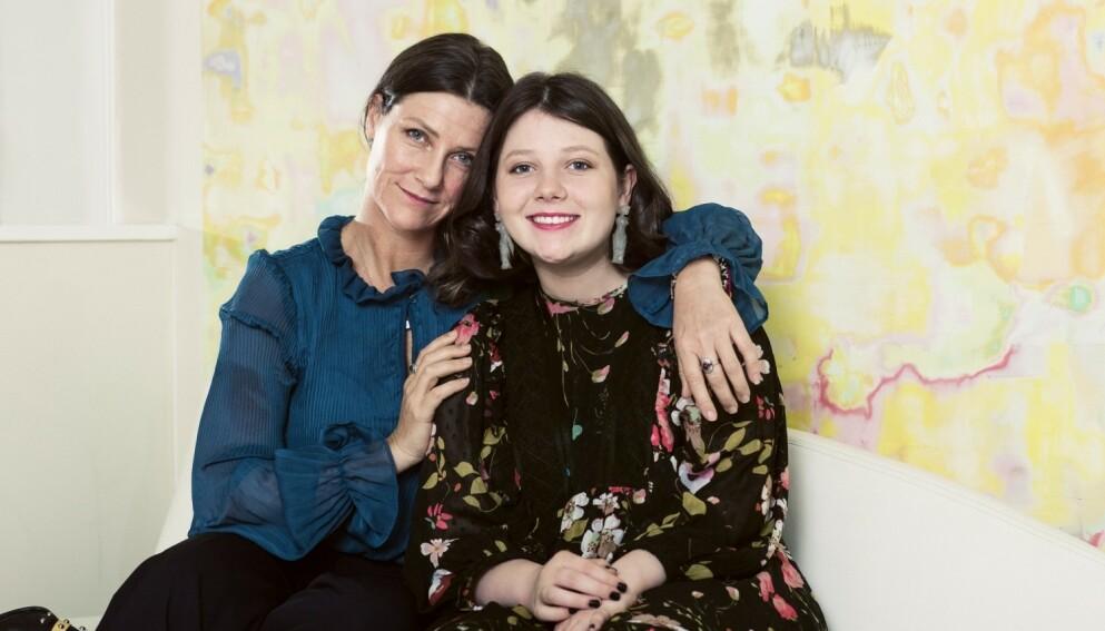 MAUD ANGELICA BEHN: I fjor høst var KK på besøk hos Märtha og Maud i Lommedalen i Bærum. Det unike båndet mellom mor og datter var slående. FOTO: Astrid Waller