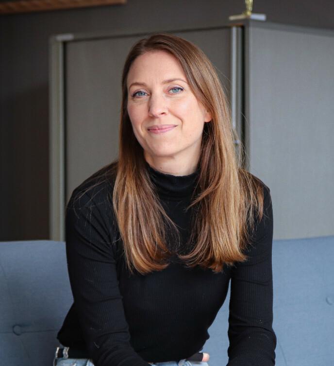 POSITIVT: Helene forklare rat prosessen med å fryse ned egg, utelukkende har vært e npositiv erfaring. Foto: Ida Bergersen