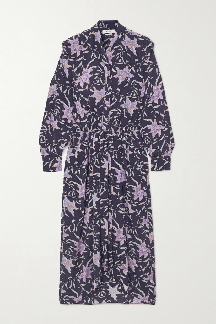 Store, lilla blomster (kr 5160, Isabel Marant Étoile).
