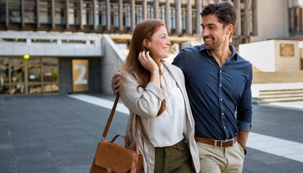VANSKELIG Å AVVISE DATEN: Hvis du synes det er vanskelig å komme med en tydelig avvisning etter første date, er du definitivt ikke alene om det. FOTO: NTB