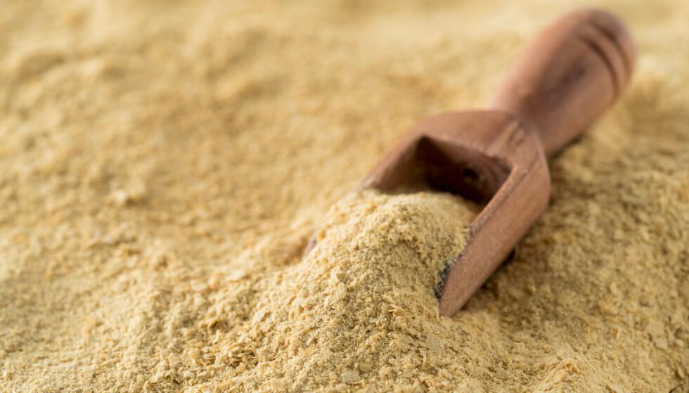 PROTEINER: Ølgjær er rikt på proteiner og b-vitaminer. FOTO: NTB