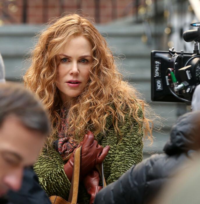 TRENDY: Rødt hår er trendy - her på Nicole Kidman i The Undoing. FOTO: NTB