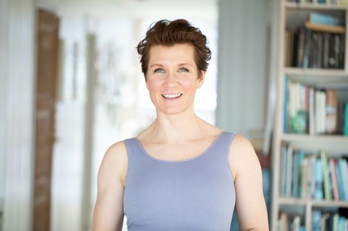 Programleder, forfatter og foredragsholder Sara Lossius har siden 2015 drevet podcasten «Ingefær». FOTO: Marte Garmann