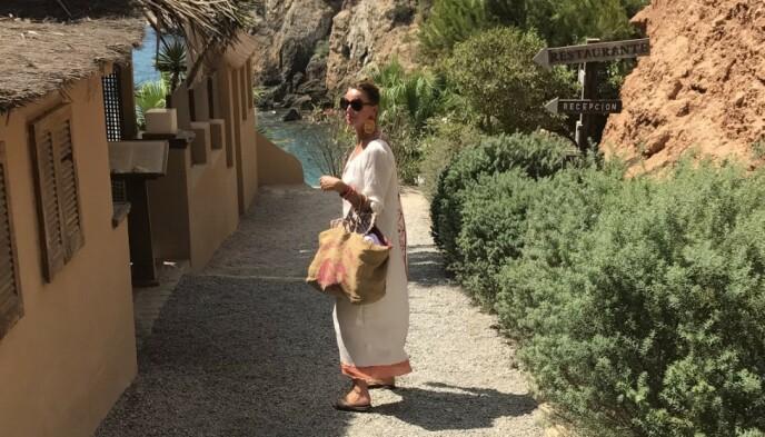 Gunilla har et kjærlighetsforhold til Hellas, som er en evig inspirasjon for henne. FOTO: Privat.