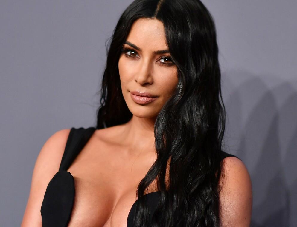 NEKTER: En talsperson for amerikanske Kim Kardashian nekter for at realitystjernen har hatt noe å gjøre med importen av en antikk italiensk statue, som ble forsøkt innført til USA i hennes navn. FOTO: Angela Weiss / AFP/NTB